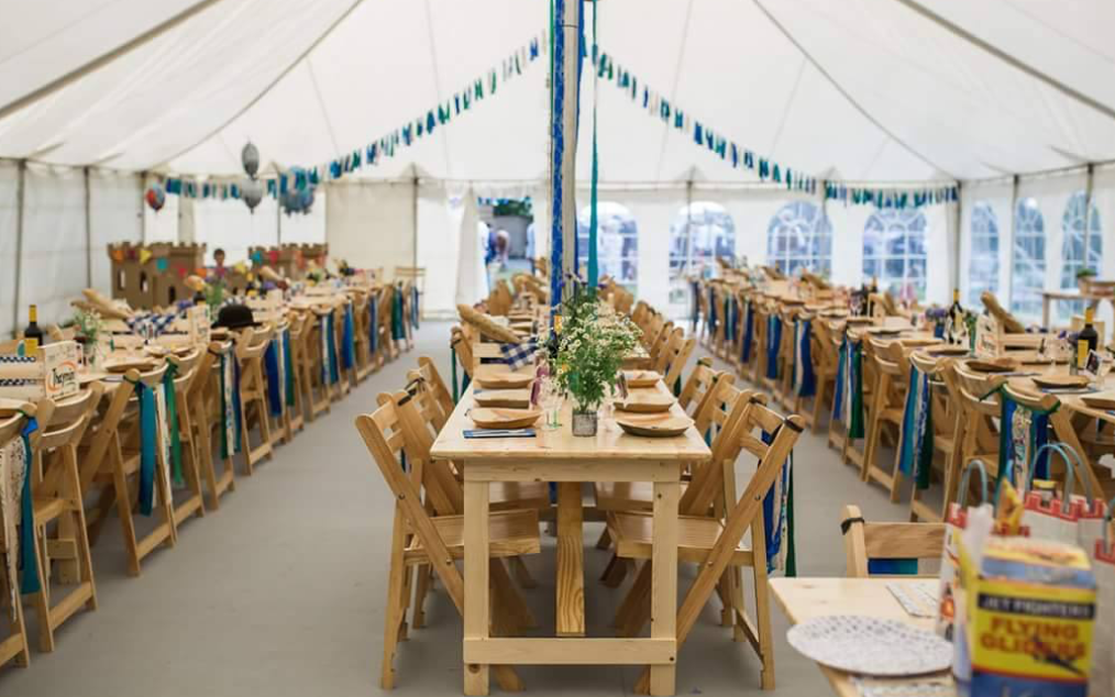 event furniture hire - tables
