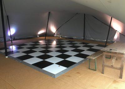 event furniture hire - dance floors