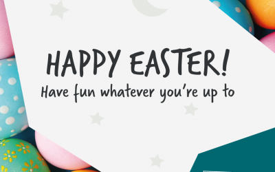 Happy Easter! Have fun whatever you're up to.