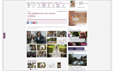 Bride Magazine's Top Suppliers for Chester