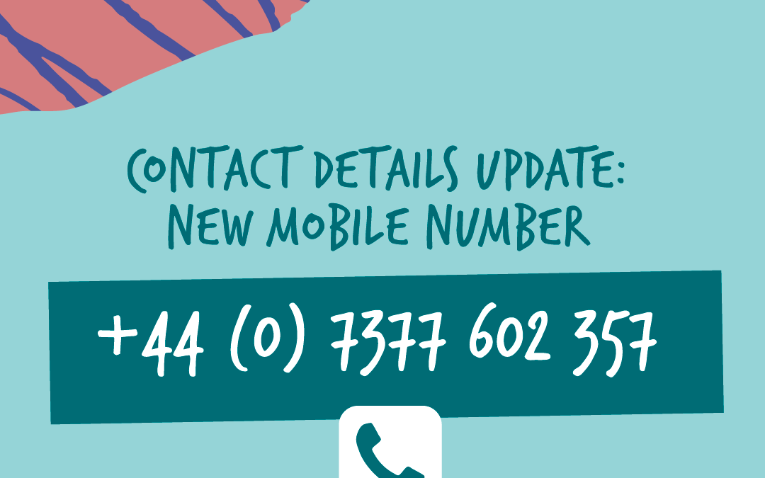 Update to contact details